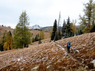 Hiking Toward Star Peak