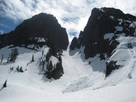 Courte Eschelle and Main Peak