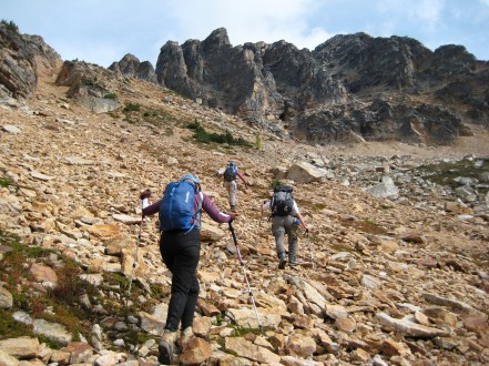 Heading For Tower Mountain
