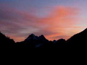 Sunset and Black Peak Photo By John
