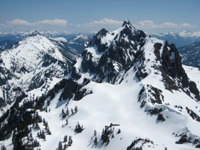 Townsend Mountain, Merchant Peak, and Wing Pwak