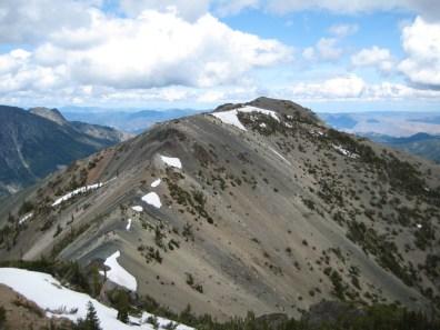 NE Peak From SW Peak