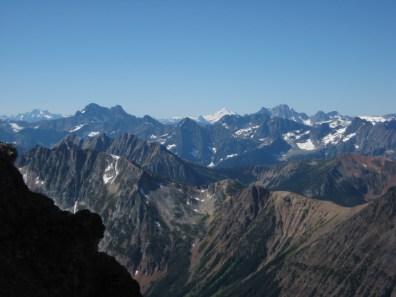 Black Peak and Mt Goode