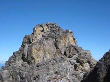 Eileen Climbing Summit Block