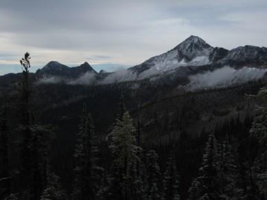 Pistol Peaks and Lake Mountain