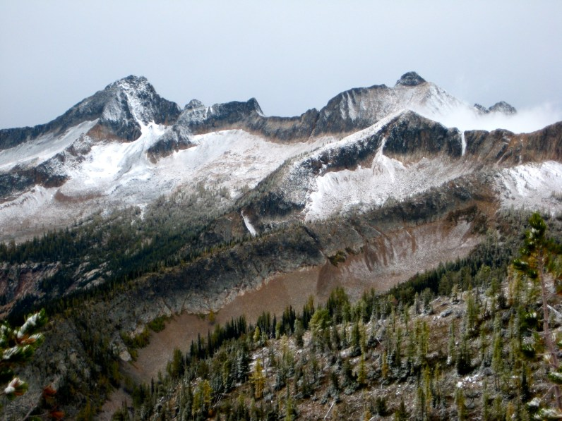 Monument Peak and Blackcap Mountain