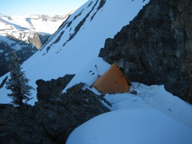 Camp At Mesahchie Col