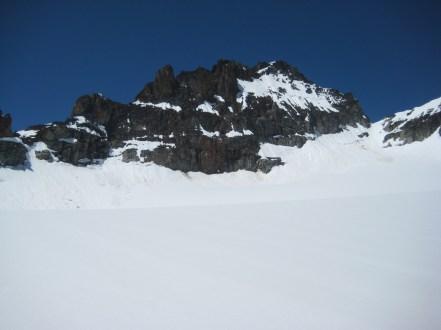 Kimtah Peak Above Katsuk Glacier