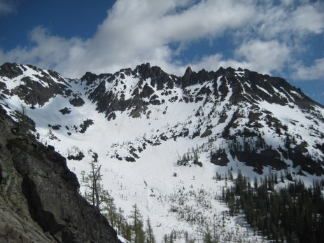 WyEast Mountain From Fourth Of July Basin