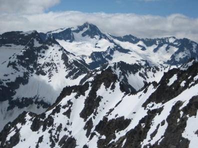 Martin and Bonanza Peaks From WyEast Mountain