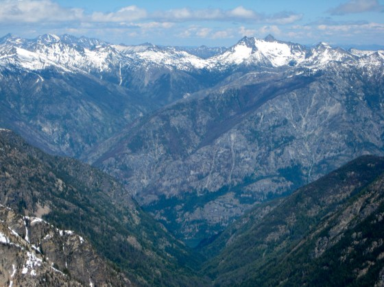 Reynolds Peak and Stehekin From WyEast Mountain