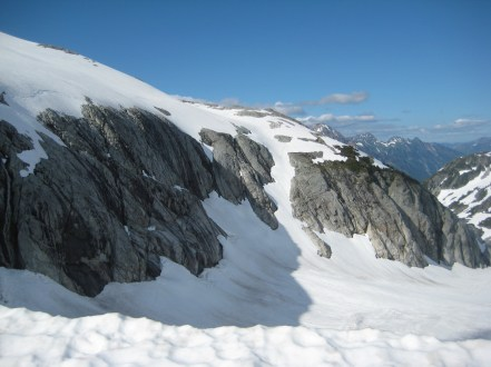 Whatcom Peak Shoulder From Perfect Pass