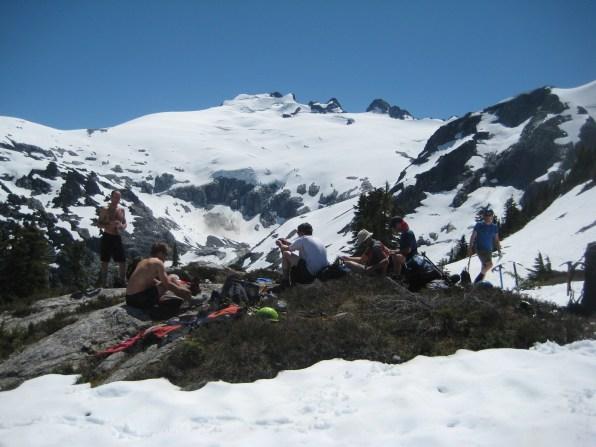Mt Challenger From Whatcom Pass
