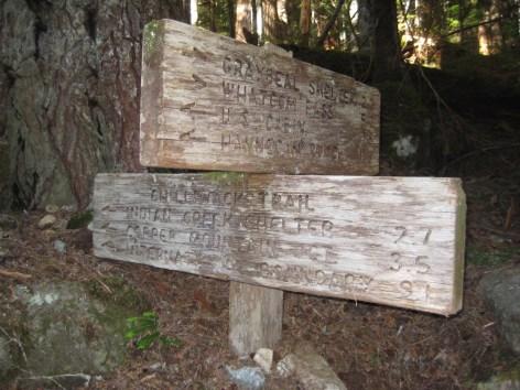 Chilliwack River Trail Sign