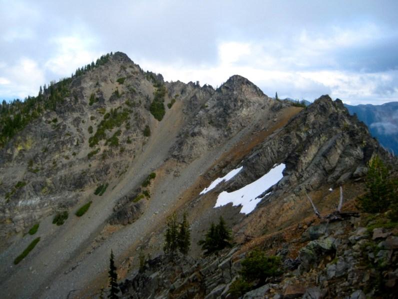 Big American Peak From Ridge