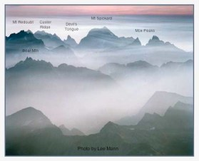North Cascades National Park - License Plate Photo By Lee Mann