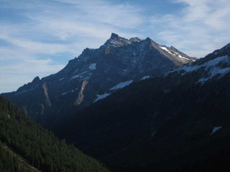 Buck Mountain From Buck Creek Pass