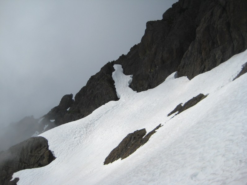 Snowfinger On SE Ridge