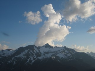 Clouds Over Colonial Peak
