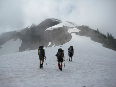 Heading Up Ragged Ridge