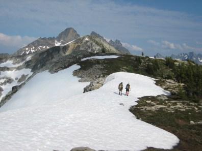 Traversing Ridge Crest