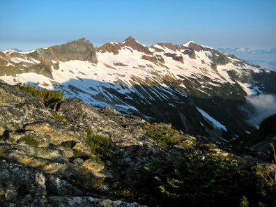 Red Mountain Ridge From Camp 2