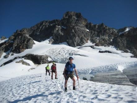 Descending Glaciers On Day 3