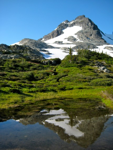LeConte Mountain From LeConte Pass