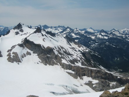 View West From Sentinel Pass