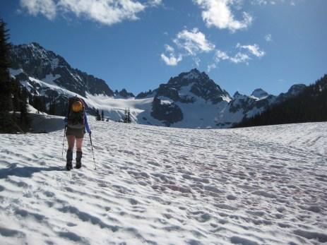 Kimtah Peak From Kitling Pass