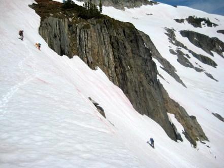 Descending From Boulder Pass
