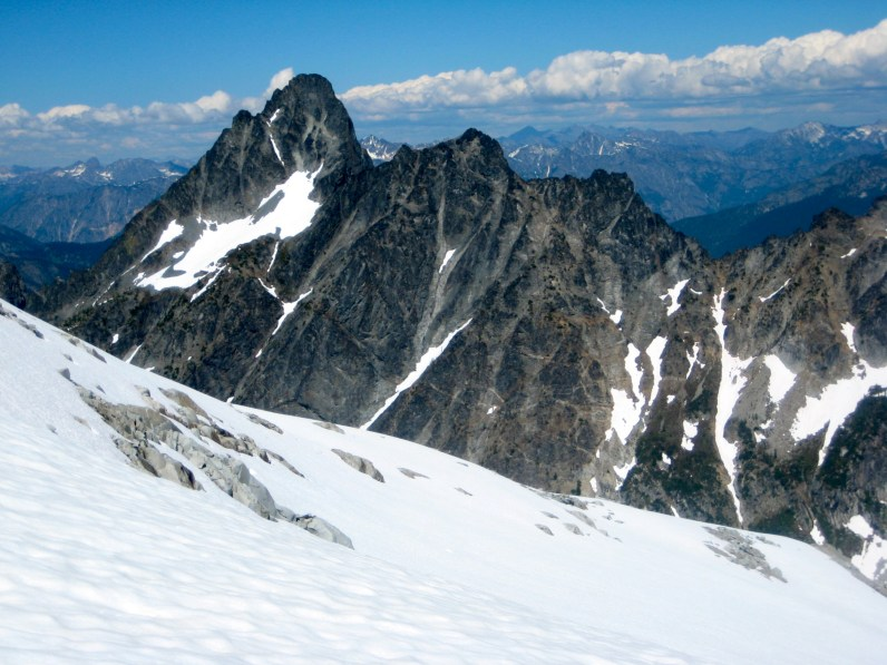 Agnes Mountain From Gunsight Col