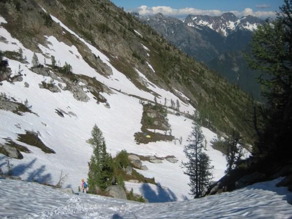 Camp In Upper Blue Basin