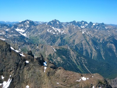 Mount Mystery, Mount Deception, and Royal Needles