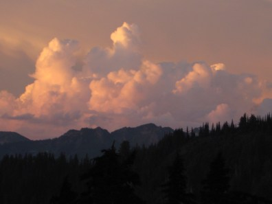 Post Storm Cumulus Clouds From Camp 1
