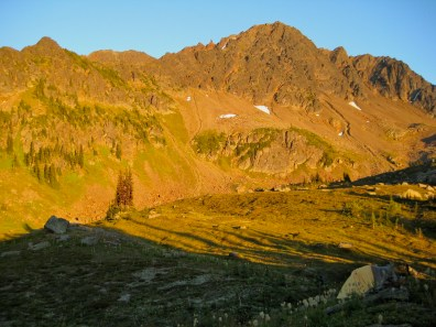 Alpenglow On Snowgrass Mountain