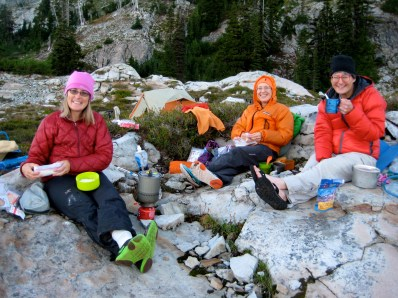 Eileen, Fay, and Lisa At Vista Lake