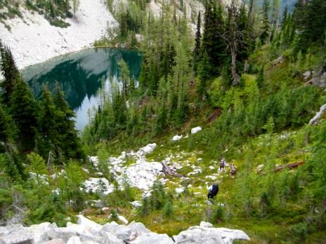 Descending To Lake 6111