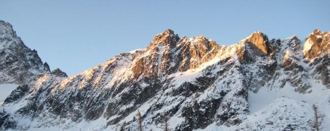 Morning Sun On Jackaroo Peak