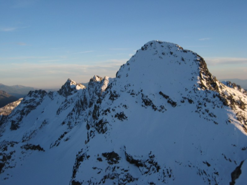 Icebox Peak From The Snowcone