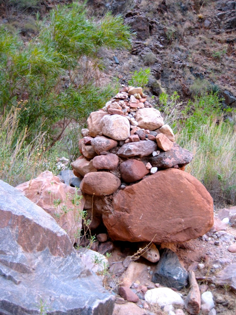 Pipe Creek Trail Cairn