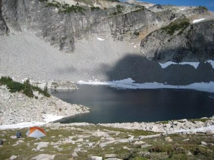Camp At Upper La Bohn Lake