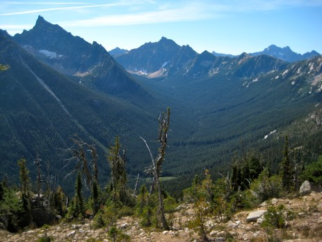 Upper Valley Of Methow River