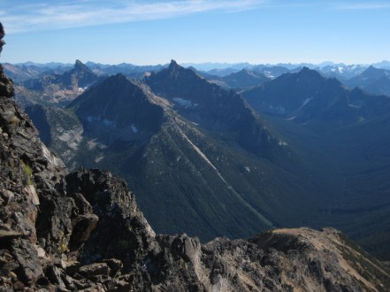 Tower Mountain, and Golden Horn, and Mt Hardy From SW Face