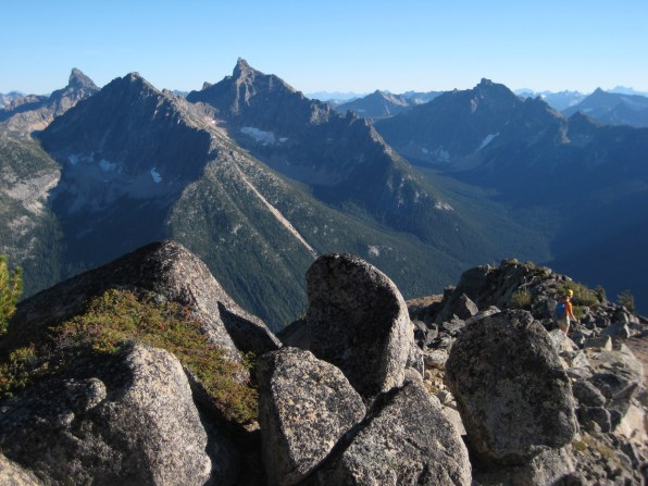 Tower Mtn, Holliway Mtn, Golden Horn, and Mt Hardy
