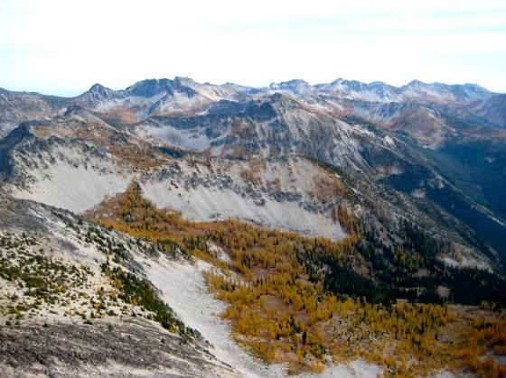 Southern Sawtooth Ridge From Star Peak
