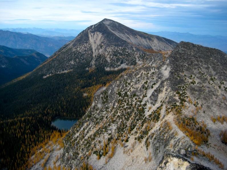 Oval Peak From Courtney Peak