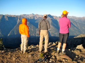 Fay, Doug, and Eileen On Boulder Butte