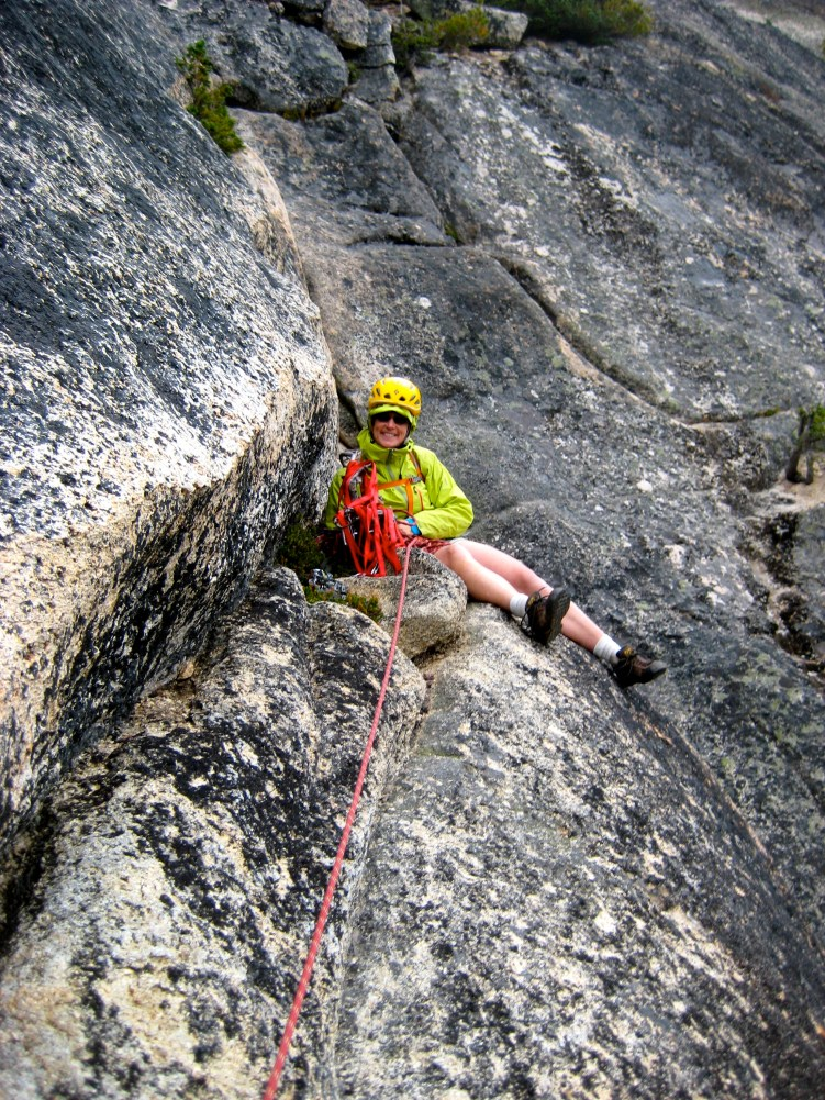 Eileen Belaying In On Pitch 4