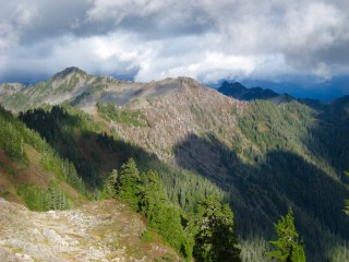 Skyline Ridge From Kimta Saddle
